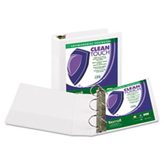 SAM16287 - Samsill® Clean Touch® Locking D-Ring View Binder