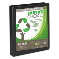 SAM16930 - Samsill® Earths Choice™ Biobased + Biodegradable D-Ring View Binder