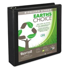 SAM16950 - Samsill® Earths Choice™ Biobased + Biodegradable D-Ring View Binder