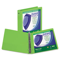 SAM17265 - Samsill® Clean Touch® Round Ring View Binder with Antimicrobial Protection