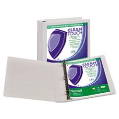 SAM18257 - Samsill® Clean Touch® Locking Round Ring View Binder