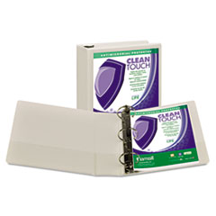 SAM18287 - Samsill® Clean Touch® Locking Round Ring View Binder
