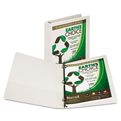 SAM18937 - Samsill® Earth's Choice Biodegradable Round Ring View Binder