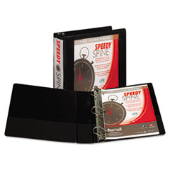 SAM19160C - Samsill® Speedy Spine™ Angle-D Ring View Binder
