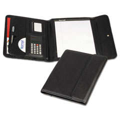 SAM70890 - Samsill® Professional Tri-Fold Padfolio™ with Calculator