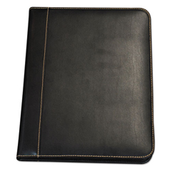 SAM71710 - Samsill® Contrast Stitch Leather Padfolio