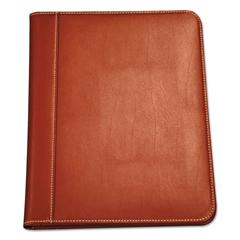 SAM71716 - Samsill® Contrast Stitch Leather Padfolio