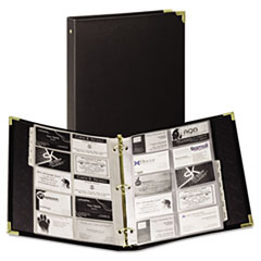 SAM81080 - Samsill® Classic™ Vinyl Business Card Binder