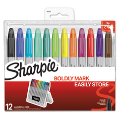 SAN1983251 - Sharpie® Permanent Markers with Storage Case