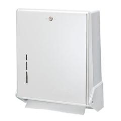 SANT1905WH - True Fold® Metal Front Cabinet Towel Dispenser