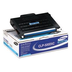 SASCLP500D5C - Samsung CLP500D5C Toner, 5000 Page-Yield, Cyan