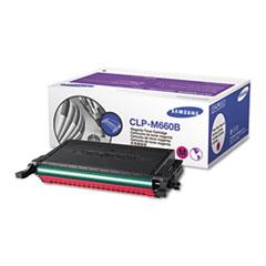 SASCLPM660B - Samsung CLPM660B High-Yield Toner, 5000 Page-Yield, Magenta