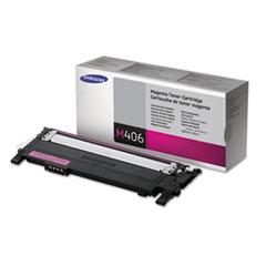 SASCLTM406S - Samsung CLTM406S Toner, 1000 Page-Yield, Magenta