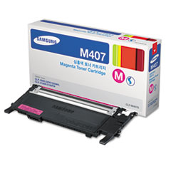 SASCLTM407S - Samsung CLTM407S (CLT-M407S) Toner, 1,000 Page-Yield, Magenta