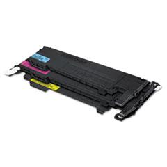 SASCLTP407C - Samsung CLTP407C Toner, Black, Cyan, Magenta, Yellow, 4/Box