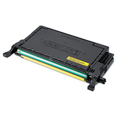 SASCLTY609S - Samsung CLTY609S High-Yield Toner, 7,000 Page Yield, Yellow