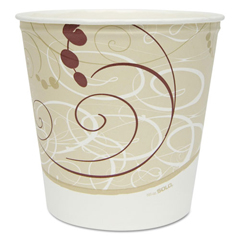 SCC10TR25SYM - Dart® Double Wrapped Paper Buckets