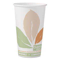 SCC316PLABBPK - Dart® Bare® by Solo® Eco-Forward® PLA Paper Hot Cups