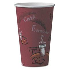 SCC316SI - Solo Paper Hot Drink Cups in Bistro™ Design