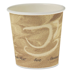 SCC374MS - Dart® Solo® Single Sided Poly Paper Hot Cups