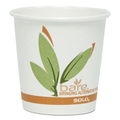 SCC374RC - SOLO® Cup Company Bare® Eco-Forward® Recycled Content PCF Hot Cups