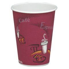 SCC378SI - Solo Paper Hot Drink Cups in Bistro™ Design