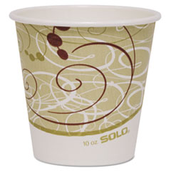 SCC410SMSYM - Solo Paper Hot Cups, 10 oz.