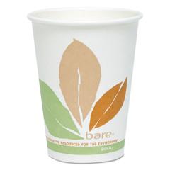 SCC412PLNJ7234P - Dart® Bare® by Solo® Eco-Forward® PLA Paper Hot Cups