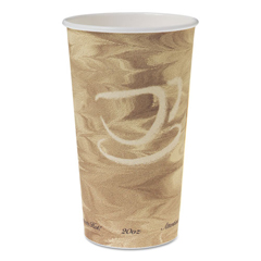 SCC420MS - Dart® Solo® Single Sided Poly Paper Hot Cups