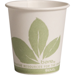SCC44BB - Solo Bare™ Eco-Forward™ Treated Paper Water Cups