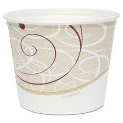 SCC5T1GRSYM - Solo Symphony® Grease Resistant Double Wrapped Paper Buckets