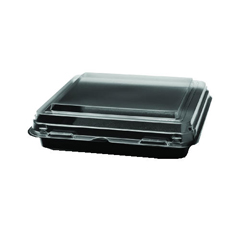SCC864628-PS94 - Solo OctaView Hinged-Lid Cold Food Containers