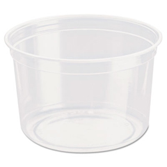 SCCDM16R - Solo Bare™ Eco-Forward™ RPET Deli Containers
