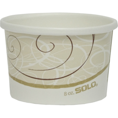 SCCH4085SYM - Solo Flexstyle® Double Poly Paper Containers