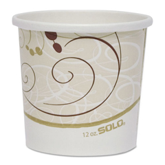 SCCH4125SYM - Dart® Double Poly Paper Food Containers