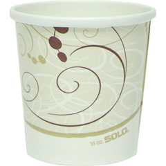SCCH4165SYM - Solo Flexstyle® Double Poly Paper Containers