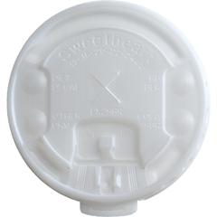 SLOLX2SBR - SOLO® Lift Back & Lock Tab Cup Lids For Trophy® Foam Hot/Cold Cups