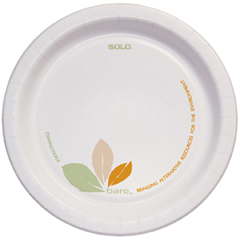 SCCMP6B-BB - Solo Bare™ Medium Weight Paper Plate