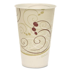SCCRP12NPSYM - Solo Symphony™ Design Poly-Coated Paper Cold Cup