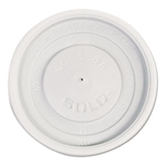 SCCVL34R0007 - Solo Polystyrene Plastic Vented Hot Cup Lids