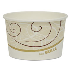 SCCVS508SYM - Solo Single Poly Paper Containers