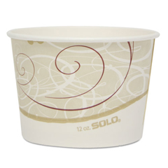 SCCVS512SYM - Dart® Single Poly Paper Containers