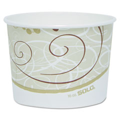 SCCVS516SYM - Solo Single Poly Paper Containers
