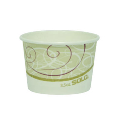 SCCVS535SYM - Solo Single Poly Paper Containers