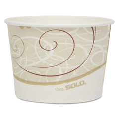 SCCVS612SYM - Dart® Double Poly Paper Food Containers