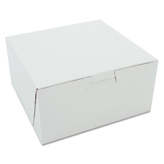 SCH0905 - White Non-Window Bakery Box