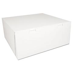 SCH0993 - SCT® White Non-Window Bakery Box