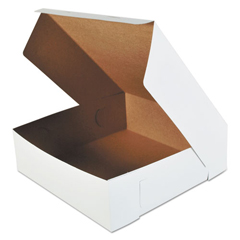 SCH0995 - SCT® White Non-Window Bakery Box