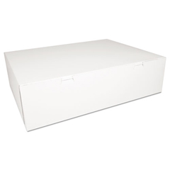 SCH1013 - SCT® White Non-Window Bakery Box