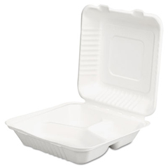 SCH18940 - SCT® ChampWare™ Molded-Fiber Clamshell Containers